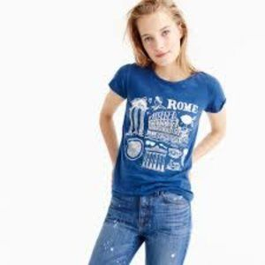 J. Crew NWT Rome T-shirt XS